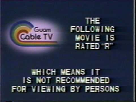 Guam Cable TV Cable Classified Snippets and Bumper (1981)