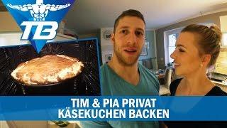 Tim & Pia privat | Käsekuchen backen / Tatar essen