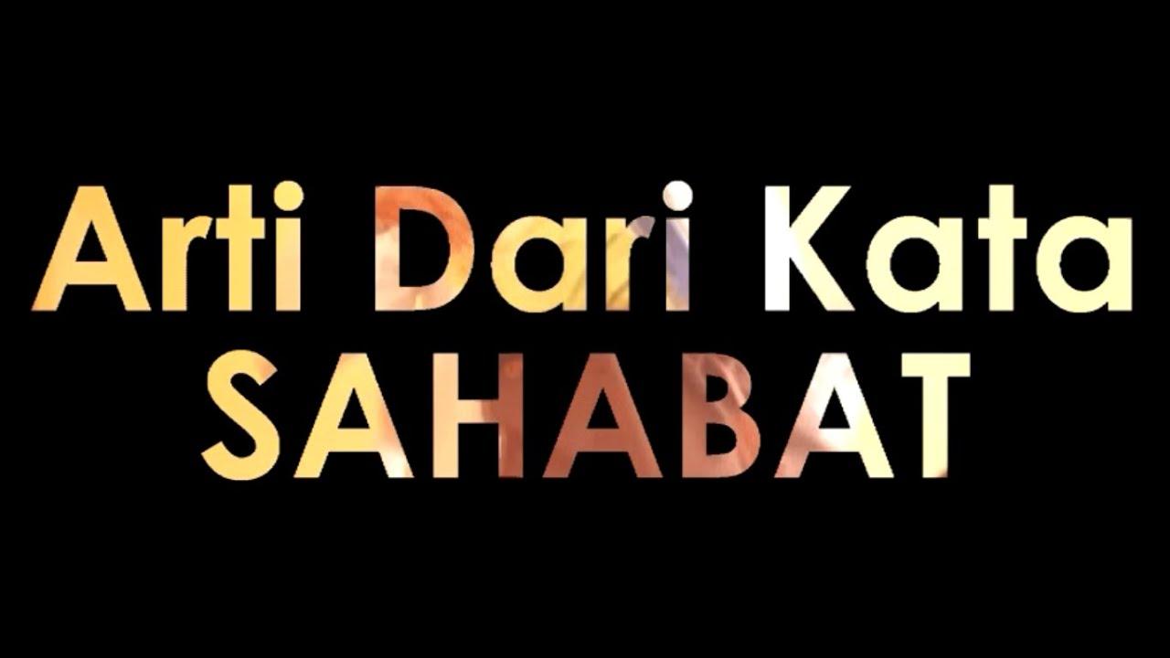 Arti Dari Kata Sahabat Documentary Short Movie Authentic Artwork