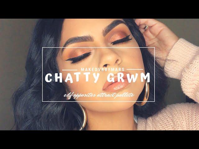 Chatty GRWM | elf Opposites Attract Palette