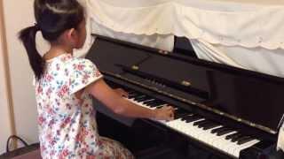 ことね 小学校2年生 ピアノ教室 グレード試験の課題曲 バイエル82番...