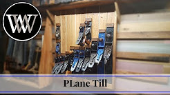 How to Make a Plane till for Hand Tool Storage | Woodworking Shop Project