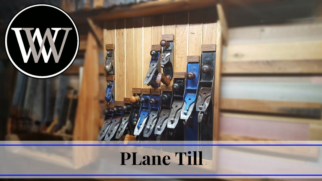 How To Make A Plane Till For Hand Tool Storage Woodworking Shop