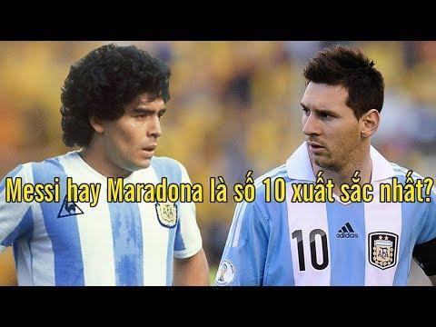 Top những số 10 hay nhất lịch sử bóng đá: Messi ở đâu? - YouTube