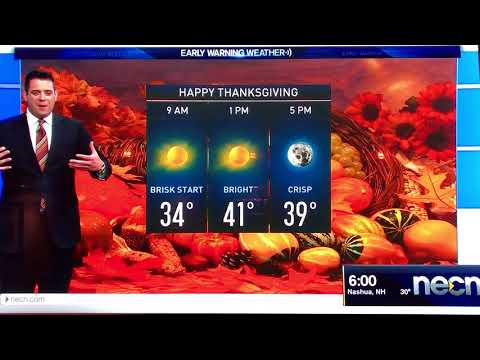WBTS/WNEU/WMFP/NECN: NBC Boston News Today at 6am partial open 11/23/17