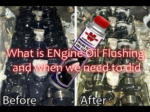 engine oil flush good  bad hindi youtube