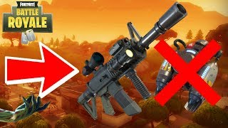 FORTNITE NEW THERMAL SCOPED AR UPDATE + END OF JETPACK! (FORTNITE LIVESTREAM)