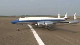 "RC LOCKHEED L-1049 SUPER CONSTELLATION ""CONNIE"" MASSIVE SCALE"