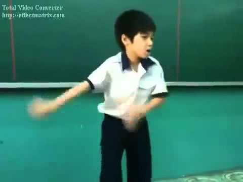 Học Sinh Tiểu Học Nhảy  Gangnam Style