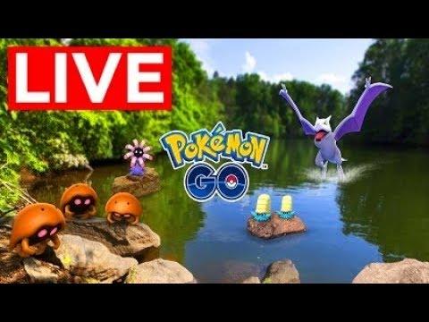 Pokemon Go Shiny Aerodactyl, Omanyte & Kabuto Hunting Adventure Week Event - Level 40
