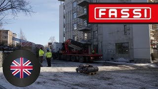 The Fassi F1650RAL crane: power, agility and versatility