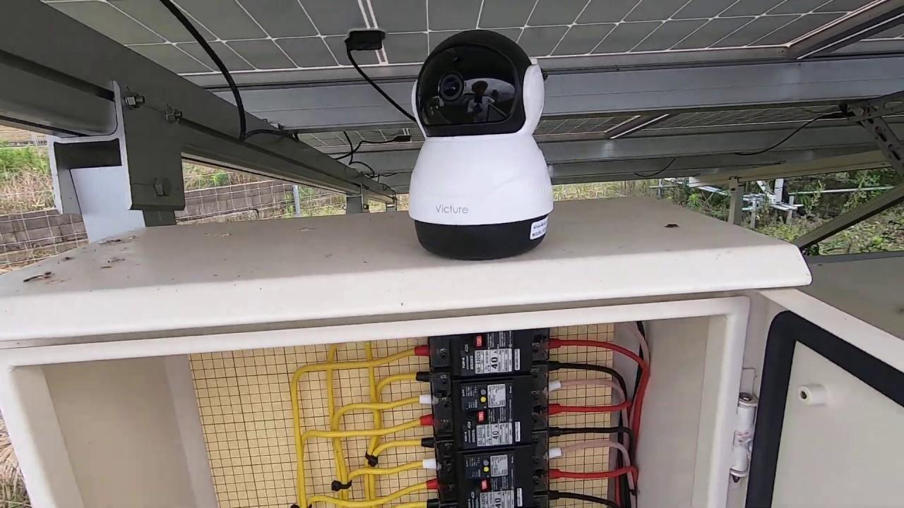 太陽光発電 イニシャル1万円で監視カメラシステムは作れるか? 試作品の動作確認