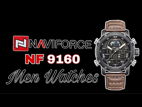 NAVIFORCE NF-9160 Men's Watch | Tech Online Shopping