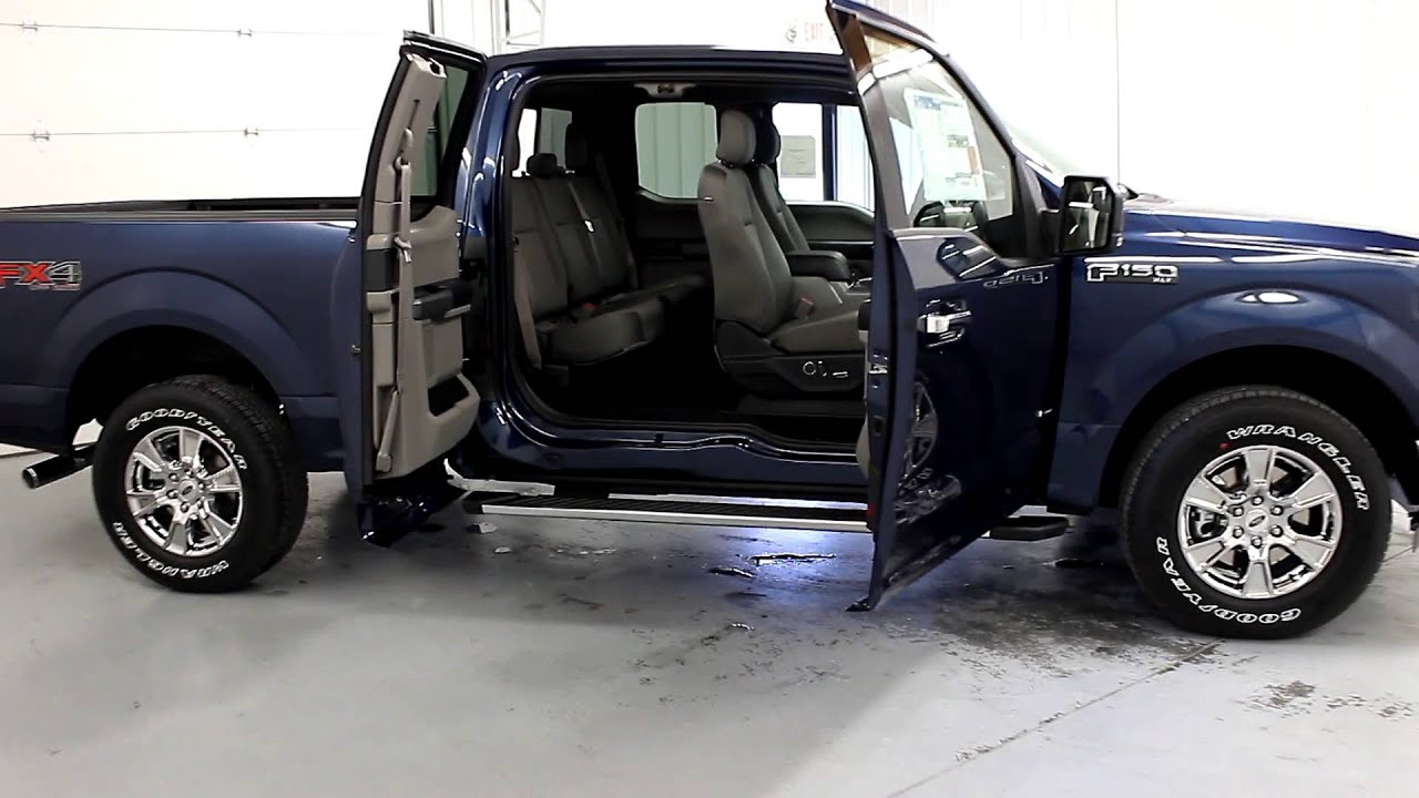 tri state quick look 2016 ford f 150 supercab blue youtube. Black Bedroom Furniture Sets. Home Design Ideas