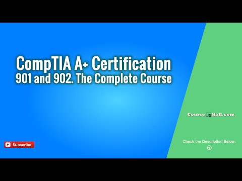 CompTIA A+ Certification 901 and 902 - The Complete Course Coupon