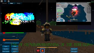 """ROBLOX - Arcane Adventures (Season 8) - Ep. 189 """" The Fire Wizard who wanted a good fight!"""""""