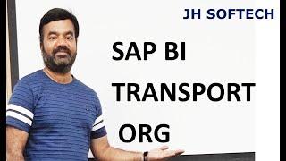 SAP BI TRANSPORT ORG