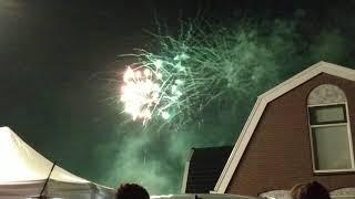 Vuurwerkshow Lutjebroek Kermis 2019