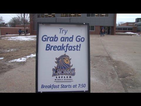 National School Breakfast Week (Lefler Middle School)