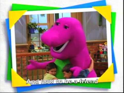 Barney Theme Song with Subtitle