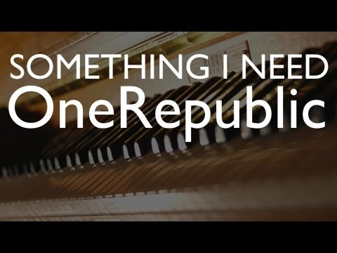 OneRepublic - Something I Need (Sebastian Winter Cover)