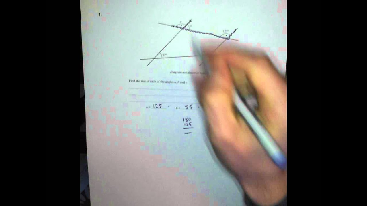 Angles - Q1 GCSE Maths Revision Walking Talking Topics with Mr ...