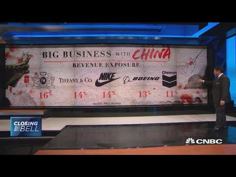 Companies that do big business in China