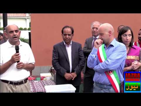 Ambassador of Pakistan embassy Italy Nadeem Riaz shows solidarity with earthquake affectees of Italy