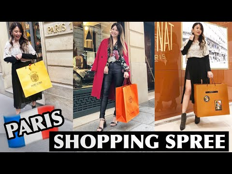 🇫🇷 PARIS SHOPPING SPREE! *Brands You NEED To Know* Ft. Faure Le Page, Moynat, Delvaux, Lancel