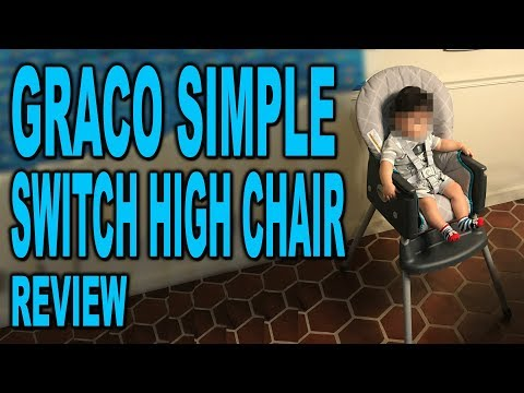 Graco SimpleSwitch High Chair – Intro and Review – Clueless Dad