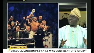 Oyedola Joshua speaks on Anthony Joshua's victory
