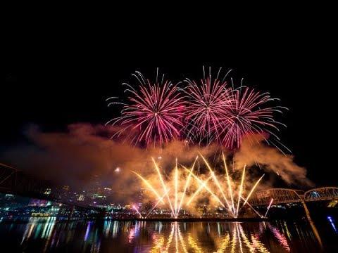 Cincinnati WEBN Fireworks!!