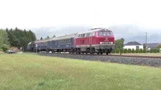 Schwedische Dampflok B 1135 von Rostock nach Augsburg überführt.
