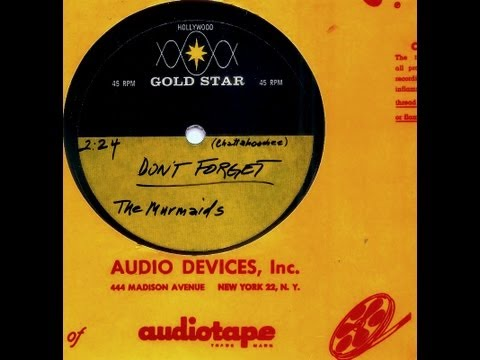 Murmaids - DON'T FORGET  (Gold Star Studio)  (1964)