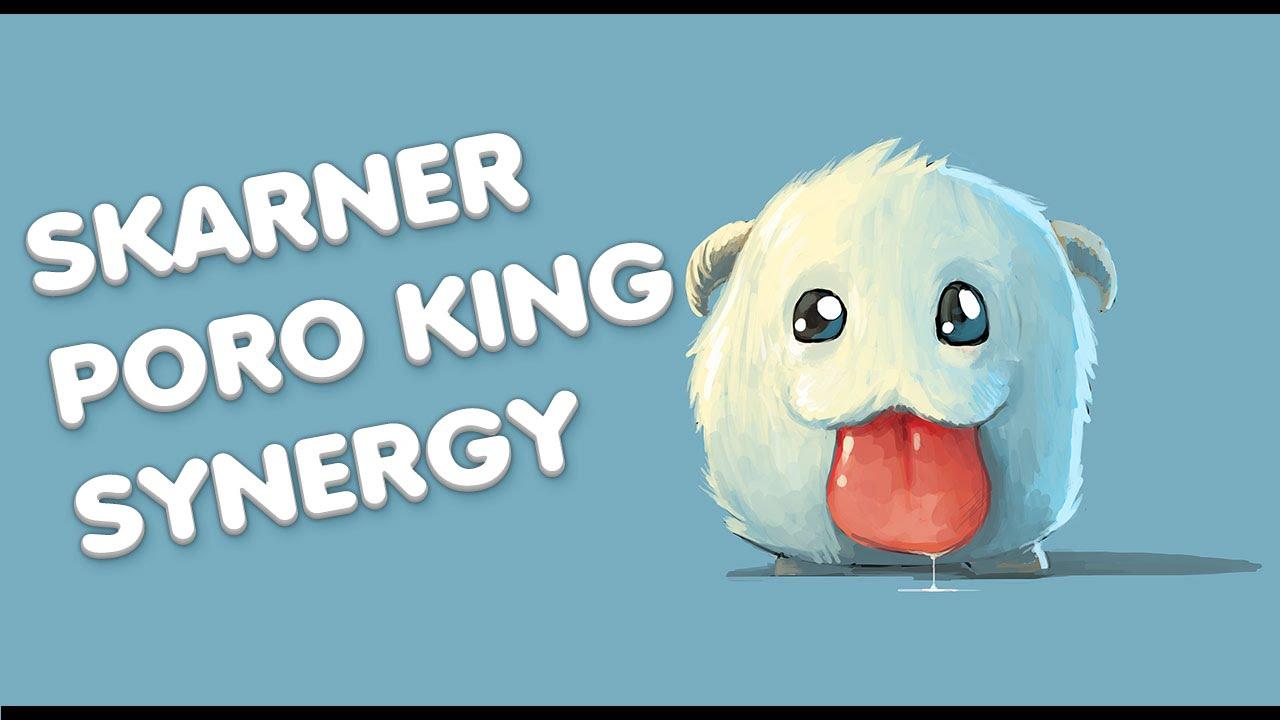 Hãy đề phòng Skarner ở chế độ Đại Chiến Vua Poro!
