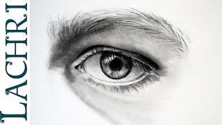 How to draw an eye w/ Lachri