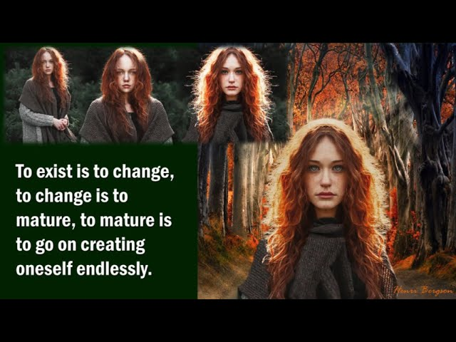 To Exist Is To Change