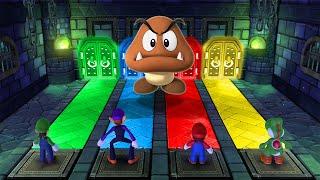 Mario Party 10 MiniGames - Luigi Vs Mario Vs Daisy Vs Peach (Master Cpu)