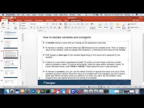 COMP1006 - W2017 - Lesson 2 - Part 2 - Broadcast