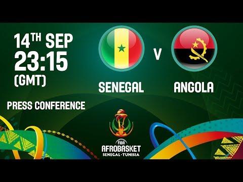 Senegal v Angola - Press Conference