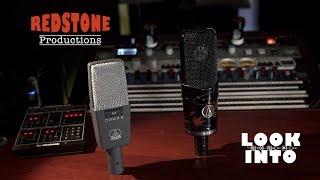 Studio Microphones: AKG c414XLS vs. AUDIO TECHNICA AT4050 - LOOK INTO