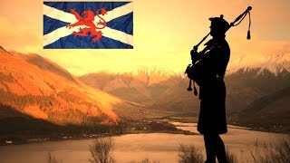 MUSIC SKYE BOAT SONG ~LONE PIPER~ ISLE OF SKYE.