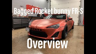 Bagged Rocket Bunny FRS  Exterior Overview