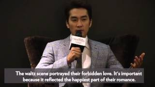Song Seung-Heon promotes new movie Obsessed in Singapore