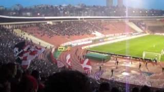 セルビアリーグのレッドスターの試合を観に行ってみた。 thumbnail