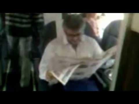 Thala Ajith on a Flight to Mumbai Ak 57 shooting spot|Ajith, Kajal