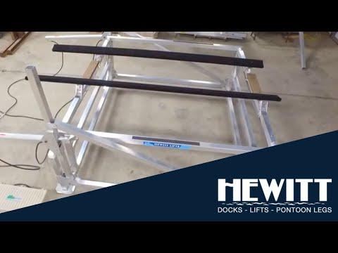 Hewitt 3900 Hydraulic Cantilever Lift