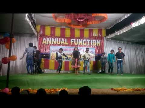DJ Bajega To Pappu Nachega - Annual Function 2017-18 - Vivekanand High School Mohgaon -