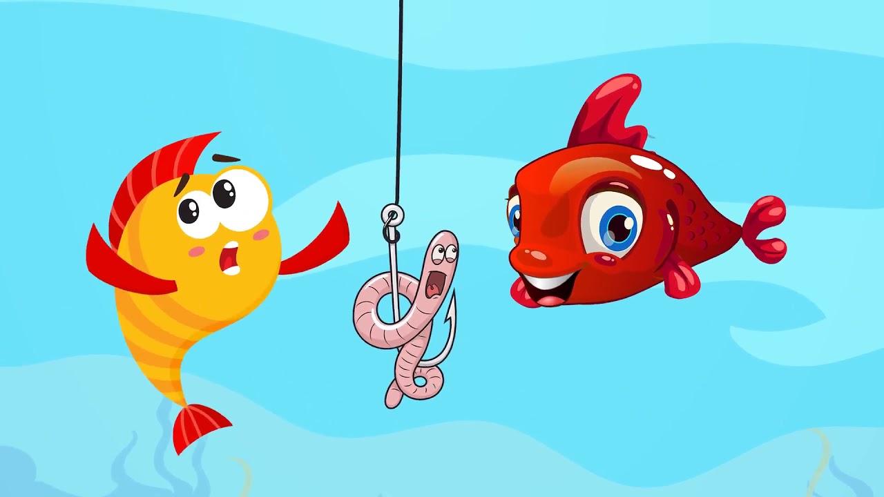Kırmızı Balık Gölde -  Bebek Şarkıları - Çocuk Şarkıları -