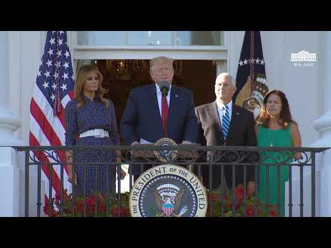 President Trump and The First Lady Participate in the Congressional Picnic
